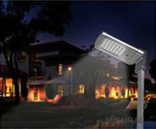 Misural productos iluminacion led solar luminaria for Precios iluminacion exterior