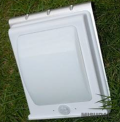 Luminaria led exterior para pared solar