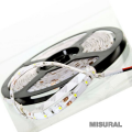 Tira led 3528 120 led x mt interior ip 33 blanco calido 12 v 5 mts l/clasica