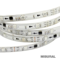Tira led 5050 30 led x mt interior ip 20 RGB IC 2903 12v 5 mts